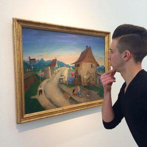 Skonsumowaliśmy z Hansem sztukę Leopold Museum
