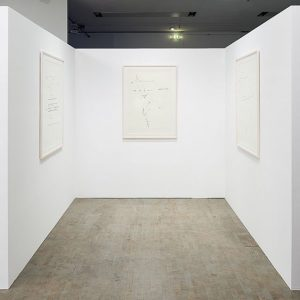 The drawings by Olve Sande in his series The Fire Sermon I-III descend from the annotations and...