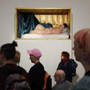 The artist is presence #JulisckaStengele @kunstraum_niederoesterreich Kunstraum Niederoesterreich