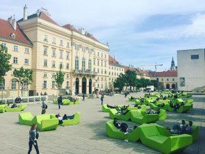 #ChillSpot #MuseumQuarter #Vienna #Austria #SoloMissions MQ – MuseumsQuartier Wien