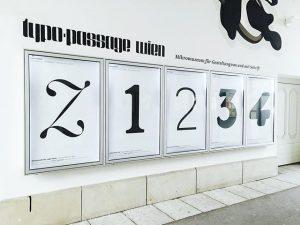 z1234 #typopassage #q21 #mqw #austrian #type #typedesign #typographischegesellschaftaustria #subtexttypedesign MQ – MuseumsQuartier Wien
