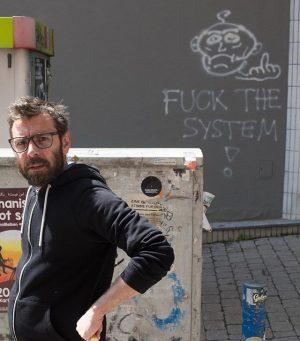 #AldoGiannotti and the #system >:e) Gumpendorfer Straße