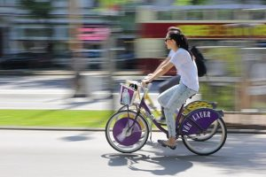 Have a wonderful day! Cruising on a sunny day in Vienna with a citybike is a lot...