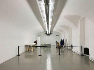 #byebye @patrycjadomanska - it was a pleasure having you! 😘 #dismantle #stimuli #exhibition curated by @marlieswirth #museumlife...