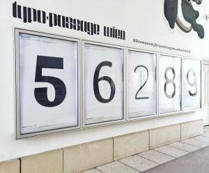 562(7)89 #7 #missing #wanted #typopassage #q21 #mqw #austrian #type #typedesign #typographischegesellschaftaustria #subtexttypedesign MQ – MuseumsQuartier Wien