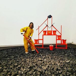 #vienna #wien #leopoldmuseum #r_komi #вена Люблю венские музеи - здесь дают покопаться в угле, а Не из...
