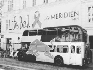 Start! #lifeball #redbull #cmarchitetti #love #work #lifeball2017 #maisonfrancescoscognamiglio #lemeridien #wien#visualmerchandising #architects #design Vienna, Austria