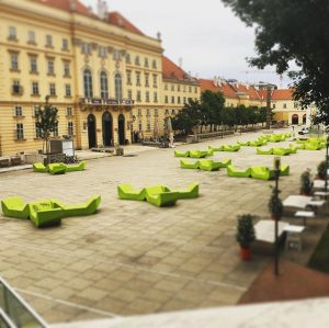 Vienna Morning #vienna #fotocult #mq MQ – MuseumsQuartier Wien