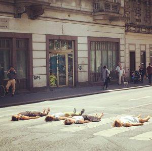 Spontan #performance #gumpendorferstrasse Gumpendorfer Straße