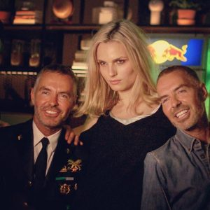 Super model @andrejapejic and @dsquared2 are here! #LifeBall #LifeBall2017 #RecognizeTheDanger #WelcomeCocktail #AIDSAwareness #CelebratingLife #Vienna Le Méridien Vienna