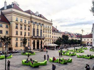 Vienna - Museums Quartier (June 2017) ———– #wien #vienna #mq #museumsquartier #urban #urbanplace #cityview #citylife #citybreak #enzis...