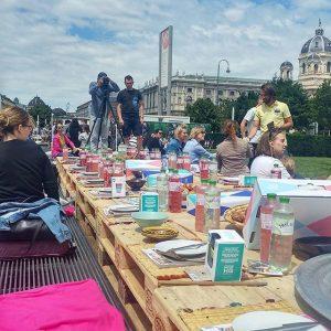Perfektes Wetter für ein großes Picknick 💕 #gustomagazin #picknick #blogger #foodfestival #hunger