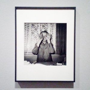 Leo Kandl - Looking through his hands. #albertinamuseum #österreichfotografie #austriaphotography #leokandl #igersaustria #museumlife #discovervienna #igersvienna #exhibition #archilovers...