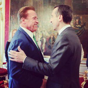 Ich bin froh und schätze es sehr, dass Arnold Schwarzenegger ein sehr klares Statement zur Klimapolitik der...