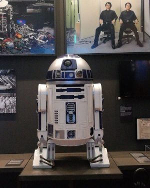 R2-D2 is back at the #MAKvienna! This time as part of the exhibition #hellorobot opening tomorrow 20...