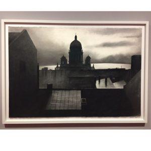 Die Isaakskathedrale in einer weißen Nacht (by Eduard Angeli). Внезапно, в Альбертине выставка приуроченная к 75летию Eduard...