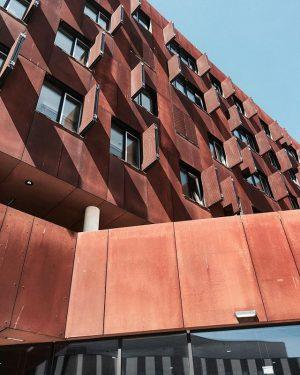 Корпус учебного центра, спроектированный венскими архитекторами из BUSarchitektur ZT GmbH DAS CAMPUS