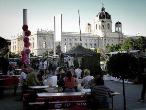 #food #foodfestival #wien #museumqaurtier #foodora #saturday MQ – MuseumsQuartier Wien