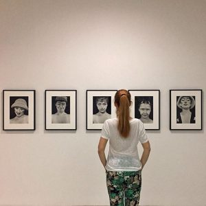 * Cindy SHERMAN * Untitled (ABCDE) * 1975/1985 * Woman Feministist Avant-garde of the 1970's * Sammlung...