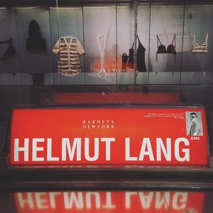 On top of all the fabulous design, #makwien has a #HelmutLang archive ...and lots more fashion! MAK...