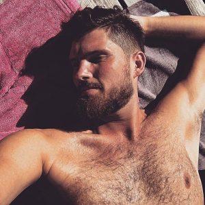 😴😴😴 #summer #sunshine #sunbathing #tanning #goodlife #goodmood #swimming #bearded #hairy #instagay #handsome #freethenipple #picoftheday #naked #gingerbeard #cute...