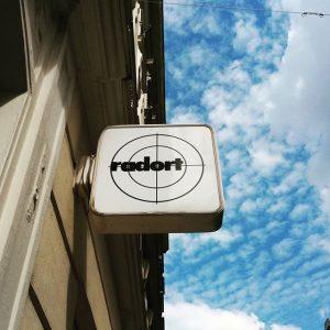 love the logo. #radort #tatort #fahrrad #vienna #radisshortforradical Leopoldstadt