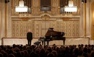 Sir András Schiff and our Bösendorfer 280VC at the @salzburgerfestspiele . Don't miss his performance today at...