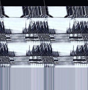 STR-glitch 0108017, c-print & vloop, E #stationrose #digitalart #glitchart #electronica
