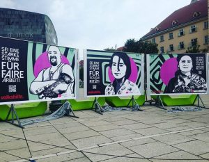 Kampagnenpräsentation: Sei eine starke Stimme! #starkestimmen #volkshilfe #job #solidarity #sabogal #menschenrechte #lovemyjob #wien #igersvienna MQ – MuseumsQuartier...