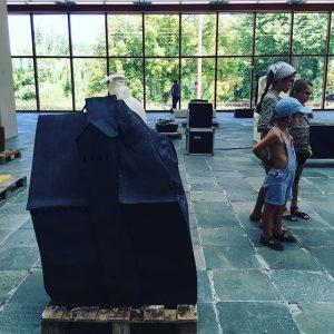 Génial #ErwinWurm au #21erhaus #lrcultmuseumweek #musuemweek #lrcultmuseum #lrcult #deuxièmeétapeVienne 21er Haus