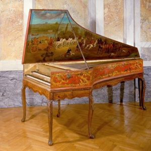 Today's gem is a Cembalo by Johannes Daniel Dulcken, on view in the Collection of Historic Musical...