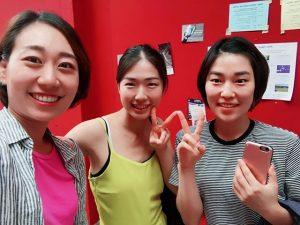 . 일본친구 유리와 함께💛 #임펄스탄츠 #마지막날 @yuryuehara Impulstanz Workshop Arsenal