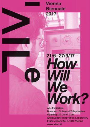 #howwillwework exhibition will be open again on September 1st 🙌 #viennabiennale #dieangewandte #viennasummer #futureofwork #ailexhibition