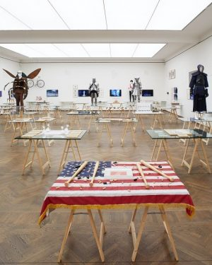 Last Weekend: JAN FABRE at Leopold Museum - join us! ____________________________________ #leopoldmuseum #vienna #wien #fabre #janfabre #performance...
