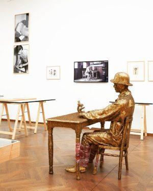 JAN FABRE - STIGMATA. Actions & Performances - only until August 27th! #leopoldmuseum #vienna #wien #fabre #janfabre...