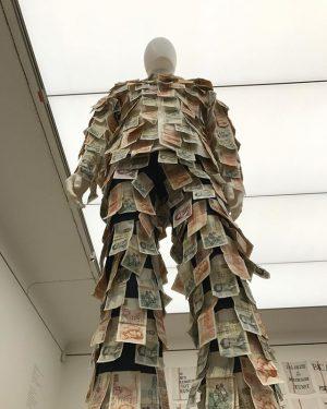 #austria #vienna #art at #leopoldmuseum by #janfabre #belgian #franks #man #expensive #suit