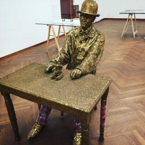 Jan Fabre - Ik, aan het dromen. (Me, Dreaming) (1978) @leopold_museum