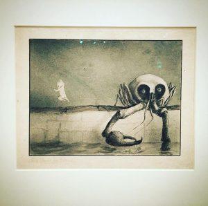 #alfredkubin #art #leopoldmuseumwien #museum #kubin #crab #baby Leopold Museum