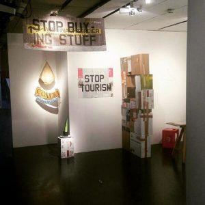 Steffi hat vor kurzem der Ausstellung 'weltkompakt' im Museumsquartier einen Besuch abgestattet! Wart ...