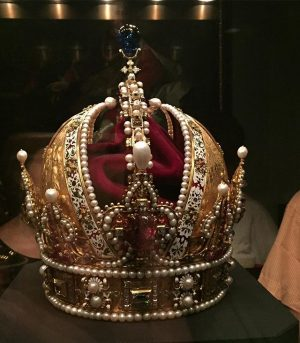 Crown of Rudolph II, later the Crown of the Austrian Empire. No, don't worry, there was also...