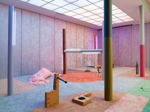 "If you're in Vienna, don't miss Alex Da Corte's colorful solo show ""Slow ..."
