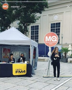 spontanes Cari Cari Walking Concert durchs MQ 💓 (inkl. Cameo in der @mqwien Story meinerseits) #caricari #caricarimusic...