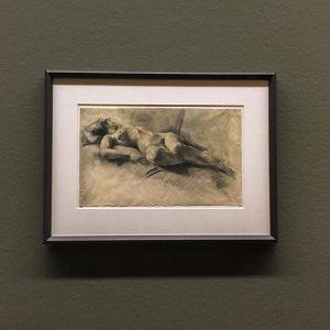 04.09.17 | #franzwiegele | #liegenderakt | @leopold_museum Leopold Museum