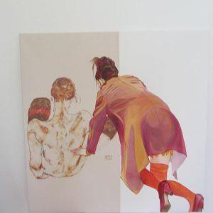 johanna bstaendig ich male frauenbilder #frauenbilder#kurierat#leopoldmuseum