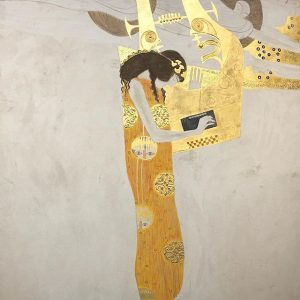 Cause I paid extra to see exclusive Klimt #wallart #gustavklimt #exclusive #gold #vienna #austria #art Belvedere Museum