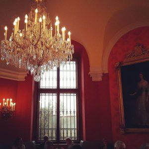 Almoço no palácio Belvedere Belvedere Museum