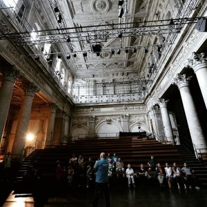 [gebäude] Das Odeontheater war dieses Jahr das erste Mal dabei - und ein Besuchermagnet! #ohw17 #becuriousbeohw#volunteerslife #architekturfüralle#openhousewien...
