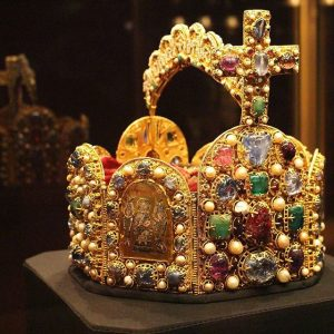 This is the last of the crowns I will be posting from the Imperial Treasury at Vienna,...