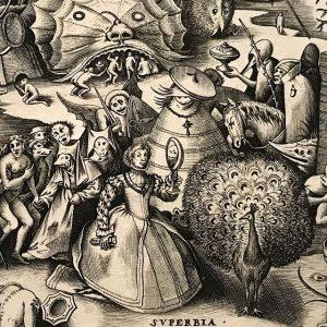 #vanity #bruegel #engraving #peacock @albertinamuseum Albertina Museum