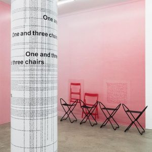 One and Three Chairs (Vienna) | Michael Riedel Im Rahmen von curated by_vienna ...